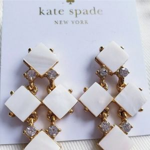 Kate spade with box and bag pearl cove earrings